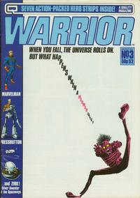 Cover Thumbnail for Warrior (Quality Communications, 1982 series) #3