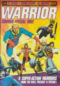 Cover Thumbnail for Warrior (Quality Communications, 1982 series) #4