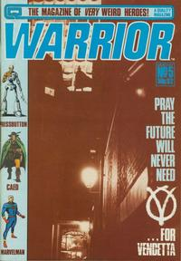 Cover Thumbnail for Warrior (Quality Communications, 1982 series) #5