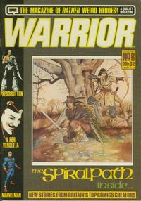 Cover Thumbnail for Warrior (Quality Communications, 1982 series) #6