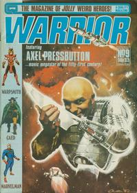Cover Thumbnail for Warrior (Quality Communications, 1982 series) #9