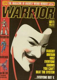 Cover Thumbnail for Warrior (Quality Communications, 1982 series) #11