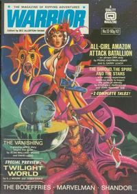 Cover Thumbnail for Warrior (Quality Communications, 1982 series) #13