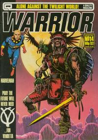 Cover Thumbnail for Warrior (Quality Communications, 1982 series) #14