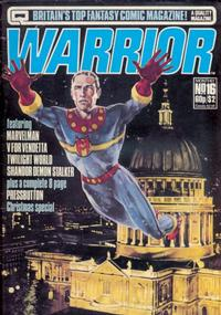 Cover Thumbnail for Warrior (Quality Communications, 1982 series) #16