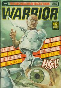Cover Thumbnail for Warrior (Quality Communications, 1982 series) #21