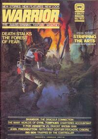 Cover Thumbnail for Warrior (Quality Communications, 1982 series) #25