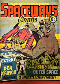 Cover Thumbnail for Swift Morgan Space Comic (T. V. Boardman, 1953 series) #52
