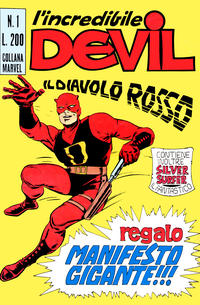 Cover Thumbnail for L'Incredibile Devil (Editoriale Corno, 1970 series) #1