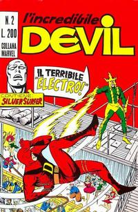 Cover Thumbnail for L'Incredibile Devil (Editoriale Corno, 1970 series) #2