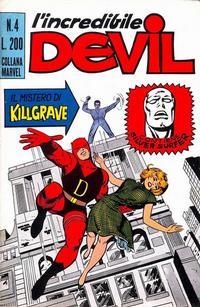 Cover Thumbnail for L'Incredibile Devil (Editoriale Corno, 1970 series) #4