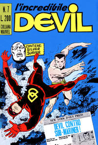 Cover Thumbnail for L'Incredibile Devil (Editoriale Corno, 1970 series) #7