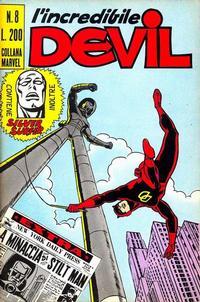 Cover Thumbnail for L' Incredibile Devil (Editoriale Corno, 1970 series) #8