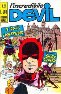 Cover Thumbnail for L' Incredibile Devil (Editoriale Corno, 1970 series) #9