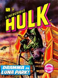 Cover Thumbnail for L'Incredibile Hulk (Editoriale Corno, 1980 series) #1
