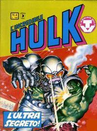 Cover Thumbnail for L'Incredibile Hulk (Editoriale Corno, 1980 series) #4