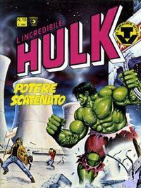 Cover Thumbnail for L'Incredibile Hulk (Editoriale Corno, 1980 series) #10