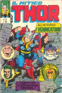 Cover Thumbnail for Il Mitico Thor (Editoriale Corno, 1971 series) #24