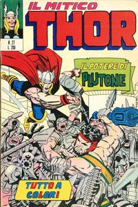 Cover Thumbnail for Il Mitico Thor (Editoriale Corno, 1971 series) #27