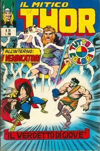 Cover Thumbnail for Il Mitico Thor (Editoriale Corno, 1971 series) #28