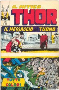 Cover Thumbnail for Il Mitico Thor (Editoriale Corno, 1971 series) #29