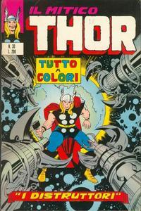 Cover Thumbnail for Il Mitico Thor (Editoriale Corno, 1971 series) #30