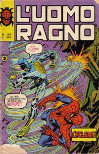 Cover Thumbnail for L'Uomo Ragno [Collana Super-Eroi] (Editoriale Corno, 1970 series) #183