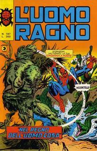Cover Thumbnail for L'Uomo Ragno [Collana Super-Eroi] (Editoriale Corno, 1970 series) #187