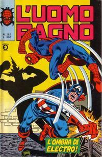 Cover for L'Uomo Ragno [Collana Super-Eroi] (Editoriale Corno, 1970 series) #282