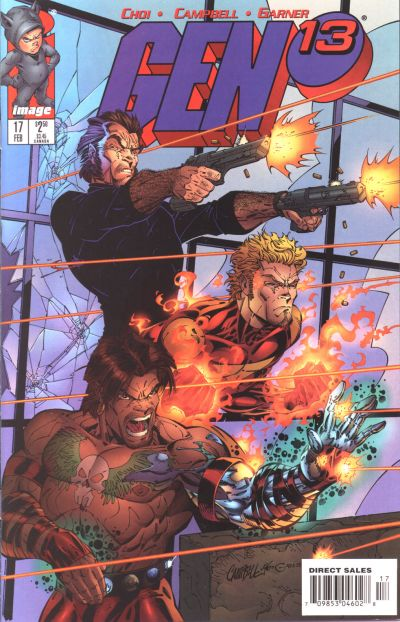 Cover for Gen 13 (Image, 1995 series) #17