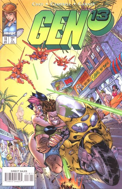 Cover for Gen 13 (Image, 1995 series) #18