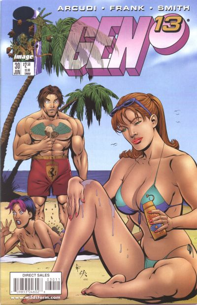 Cover for Gen 13 (Image, 1995 series) #30 [Frank Cover]