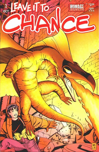 Cover for Leave It to Chance (Image, 1996 series) #2