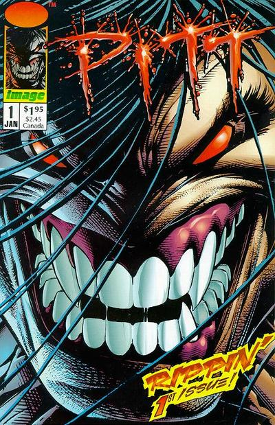 Cover for Pitt (Image, 1993 series) #1 [Direct]