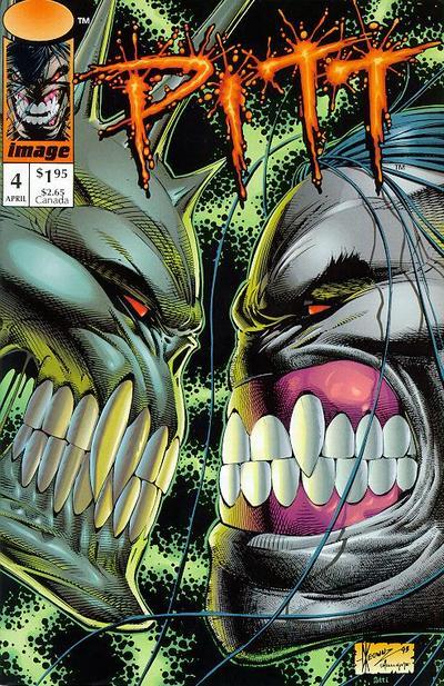 Cover for Pitt (Image, 1993 series) #4