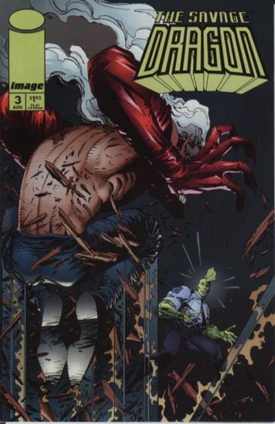 Cover for Savage Dragon (Image, 1993 series) #3