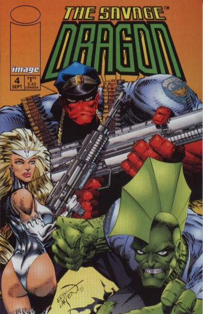 Cover for Savage Dragon (Image, 1993 series) #4