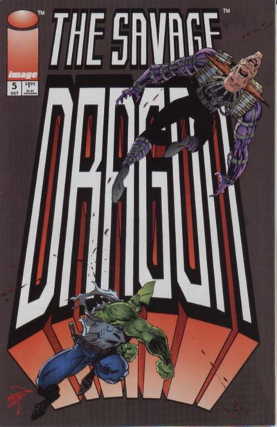 Cover for Savage Dragon (Image, 1993 series) #5