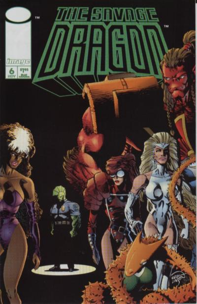 Cover for Savage Dragon (Image, 1993 series) #6