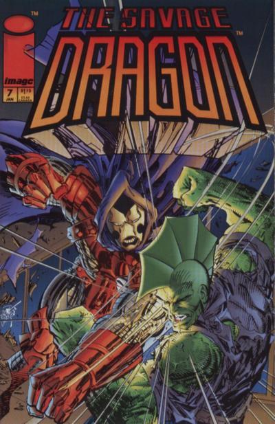 Cover for Savage Dragon (Image, 1993 series) #7