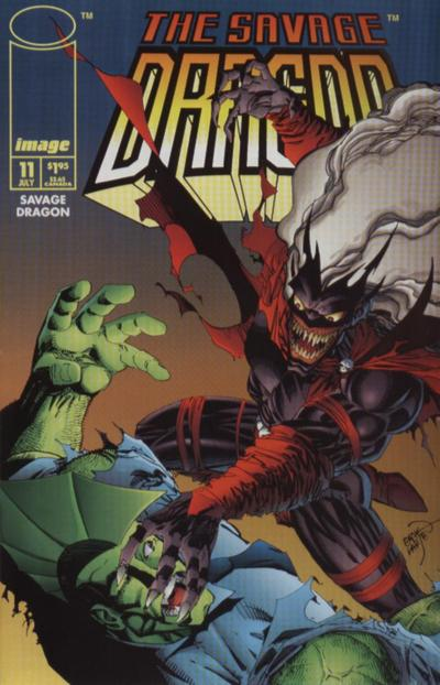 Cover for Savage Dragon (Image, 1993 series) #11