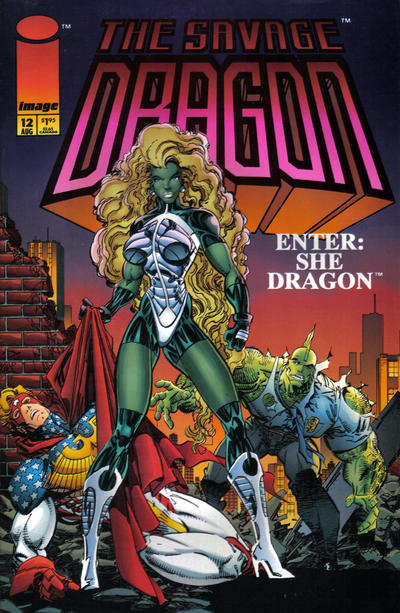 Cover for Savage Dragon (Image, 1993 series) #12