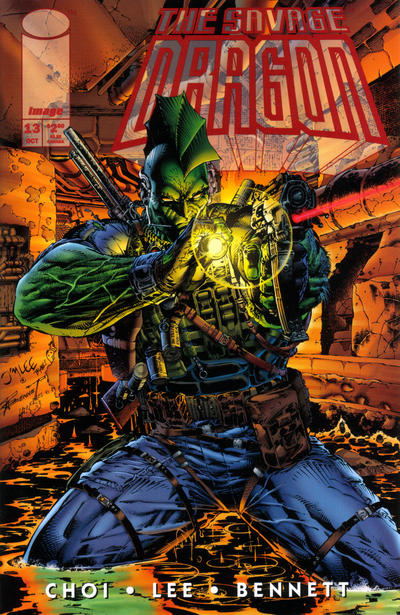Cover for Savage Dragon (Image, 1993 series) #13[a]