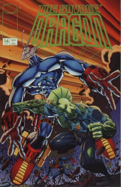 Cover for Savage Dragon (Image, 1993 series) #14
