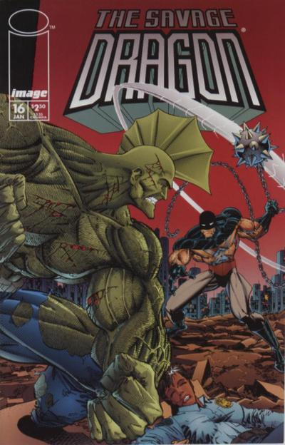 Cover for Savage Dragon (Image, 1993 series) #16