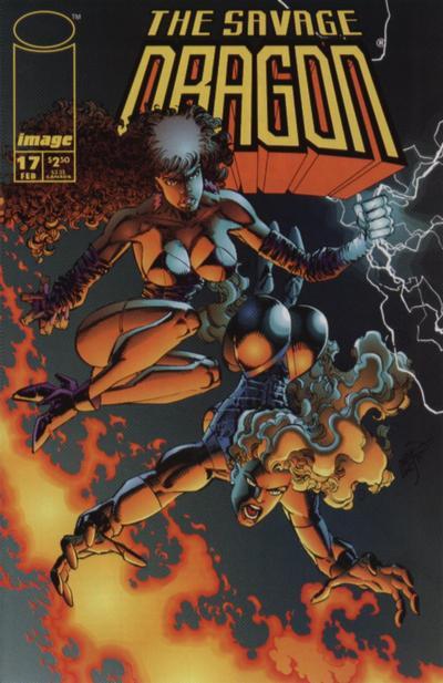 Cover for Savage Dragon (Image, 1993 series) #17 [B]