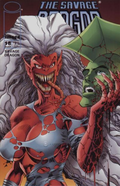 Cover for Savage Dragon (Image, 1993 series) #18