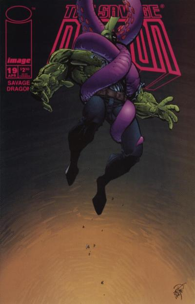 Cover for Savage Dragon (Image, 1993 series) #19