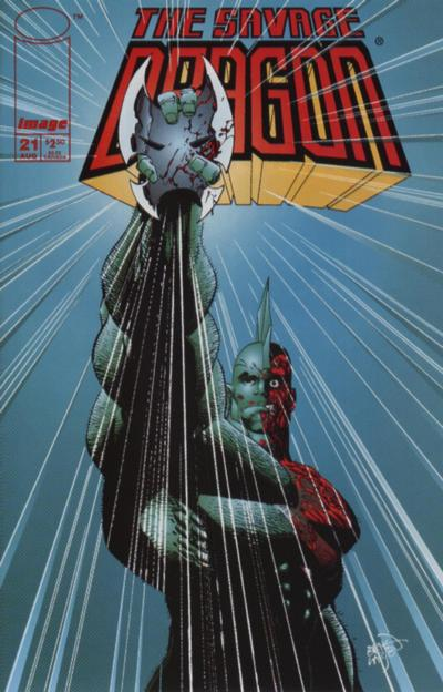 Cover for Savage Dragon (Image, 1993 series) #21 [Direct]