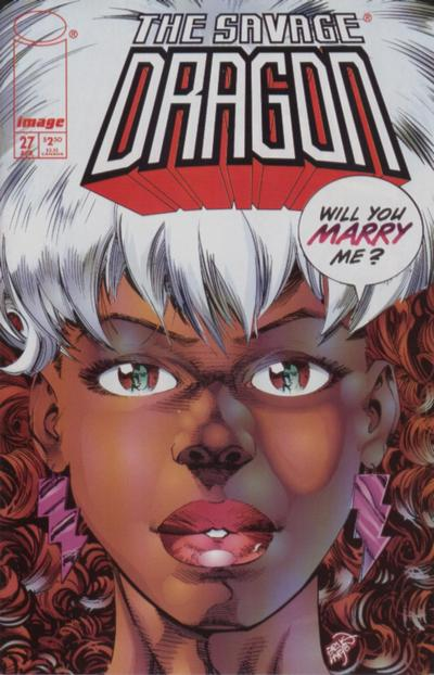 Cover for Savage Dragon (Image, 1993 series) #27 [Direct]